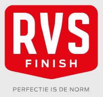 Keramisch stralen bij RVS Finish voor een geweldige kwaliteit