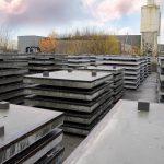 Tweedehands betonplaat is ideaal